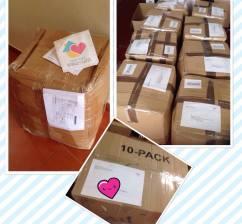 cajas enviadas